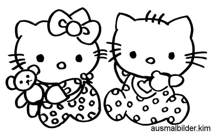 Ausmalbilder Hello Kitty Hello Kitty Ausmalbilder 08